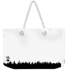 Weekender Tote Bag featuring the photograph Tree by Andrey  Godyaykin