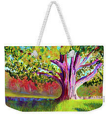 Tree At Hill-stead Museum Weekender Tote Bag by Polly Castor