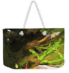 Tree Avenue Weekender Tote Bag