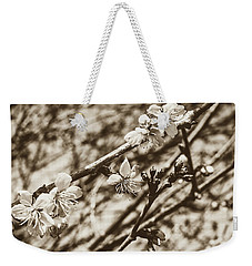 Weekender Tote Bag featuring the photograph Tree Blossom A by Jacek Wojnarowski