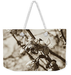 Weekender Tote Bag featuring the photograph Tree Blossom B by Jacek Wojnarowski