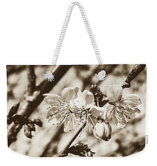 Weekender Tote Bag featuring the photograph Tree Blossom C by Jacek Wojnarowski