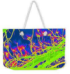 Tree Branches In Vivid Color Weekender Tote Bag