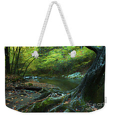 Tree By Water Weekender Tote Bag