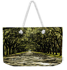 Tree Covered Approach Weekender Tote Bag