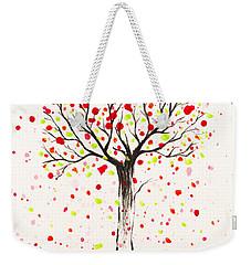 Tree Explosion Weekender Tote Bag by Stefanie Forck