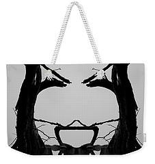 Tree Face I Bw Sq Weekender Tote Bag