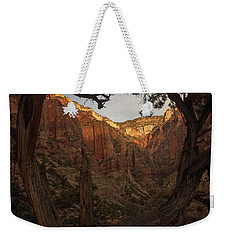 Tree Heart Weekender Tote Bag