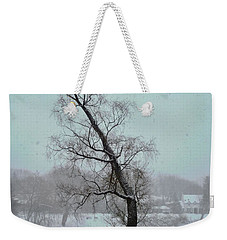 Tree In A Blizzard Weekender Tote Bag