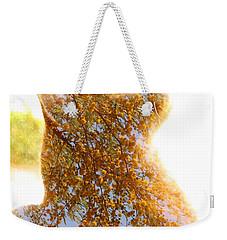 Tree In Cat Weekender Tote Bag