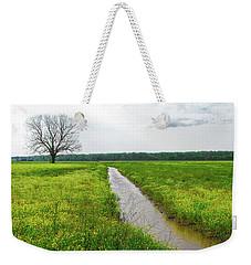 Tree In Field 2 Weekender Tote Bag