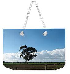 Tree In Field Weekender Tote Bag