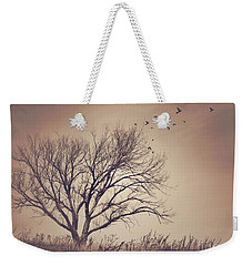Weekender Tote Bag featuring the photograph Tree by Juli Scalzi