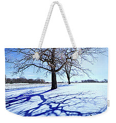 Weekender Tote Bag featuring the photograph Tree Light by Phil Koch