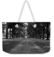 Tree-lined Carriageway Weekender Tote Bag by Jeff Severson