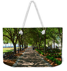Tree Lined Path Weekender Tote Bag