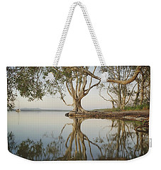 Weekender Tote Bag featuring the photograph Tree Love Down By The Lake by Keiran Lusk