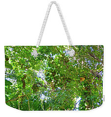 Weekender Tote Bag featuring the photograph Tree M2 by Francesca Mackenney