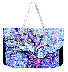 Weekender Tote Bag featuring the painting Tree Menagerie by Genevieve Esson