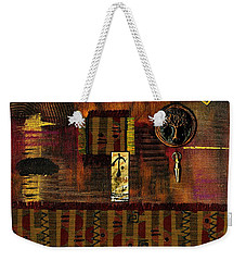 Tree Of Life Weekender Tote Bag by Angela L Walker