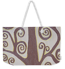 Tree Of Life Weekender Tote Bag by Angelina Vick