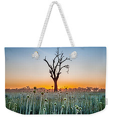 Weekender Tote Bag featuring the photograph We Are Family by Az Jackson