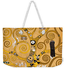 Tree Of Life Weekender Tote Bag by Gustav Klimt