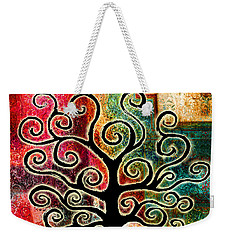Tree Of Life Weekender Tote Bag by Jaison Cianelli
