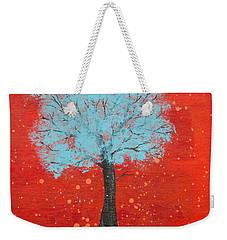 Nuclear Winter Weekender Tote Bag by Stefanie Forck