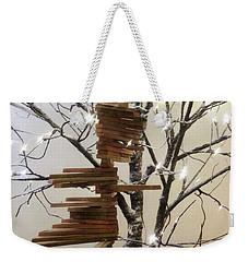 Tree Of Lights Weekender Tote Bag by Robin Regan