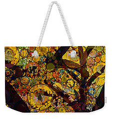 Weekender Tote Bag featuring the digital art Tree Of Prosperity by Klara Acel