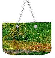 Weekender Tote Bag featuring the photograph Tree Reflection June 2016 by Leif Sohlman