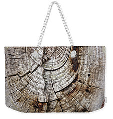 Weekender Tote Bag featuring the photograph Tree Rings - Photography by Ann Powell