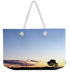 Tree Silhouette By Twilight Weekender Tote Bag