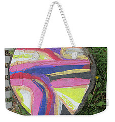 Tree Stump In Abstract - Bellingham - Lewisham Weekender Tote Bag