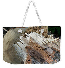 Tree Stump Weekender Tote Bag