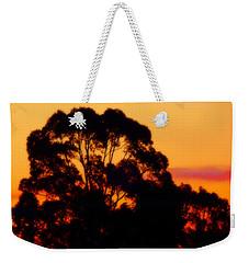Tree Sunset Weekender Tote Bag