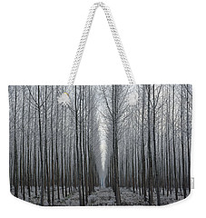 Tree Symmetry Weekender Tote Bag
