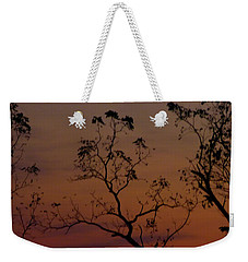 Tree Top After Sunset Weekender Tote Bag by Donald C Morgan