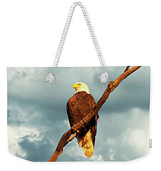 Tree Top Eagle  Weekender Tote Bag