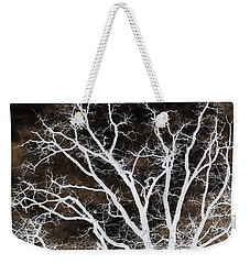 Weekender Tote Bag featuring the photograph Tree Top Left Diptych by Ellen O'Reilly