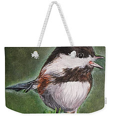 Tree Topper Weekender Tote Bag