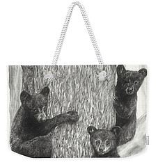 Tree Trio  Weekender Tote Bag