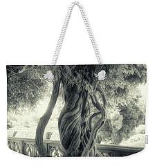 Tree Trunk Bw Series Y6693 Weekender Tote Bag