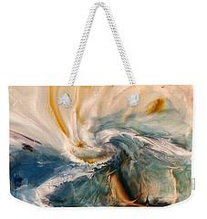 Weekender Tote Bag featuring the digital art Tree Wind by Linda Sannuti