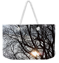 Weekender Tote Bag featuring the photograph Tree With A Heart by James BO Insogna