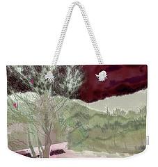 Tree Witness To Lake At Dawn Weekender Tote Bag