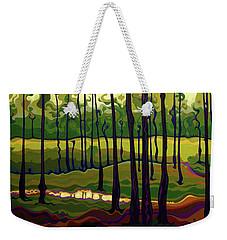 Treecentric Summer Glow Weekender Tote Bag