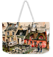 Treekiing In Doolin, Clare Weekender Tote Bag