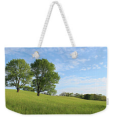 Weekender Tote Bag featuring the photograph Summer Trees 3 by Melinda Blackman